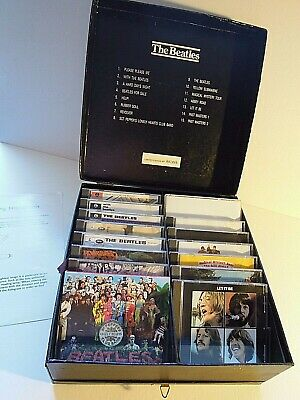 The Beatles First Complete Compact Disc Collection - HMV UK CD Album Box Set • 199.99£
