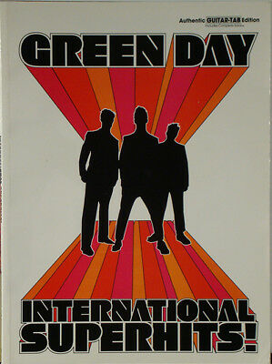GREEN DAY – International Superhits! 2001 SONGBOOK NR • 9.37£