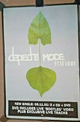 DEPECHE MODE  Freelove  (Official 60  X 40  Promotional Poster) (152cm X 101cm) • 7.99£