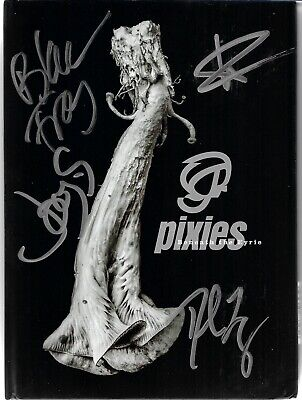 Pixies - Beneath The Eyrie - Scarce USA Deluxe CD FULLY SIGNED (Newbury Comics) • 32.99£