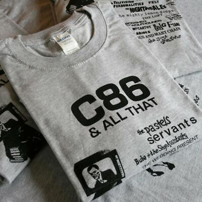 C86 T Shirt - Pastels Smiths Shop Assistants Jesus & Mary Chain Brand New XL • 15£