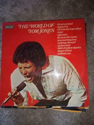 Vintage Vinyl  The World Of Tom Jones  • 2£