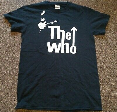 The Who - Pete Townshend - Gildan  T- Shirt, Black, Small • 10£