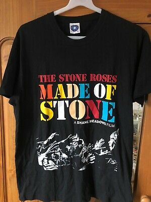The Stone Roses Official Made Of Stone Film TShirt Ian Brown Small Shane Meadows • 24.99£
