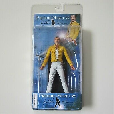 Freddie Mercury Queen 2006 Neca Figure Magic Tour 1986 Wembley Doll Sealed  • 129.95£