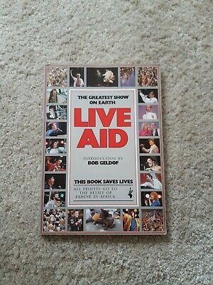 Live Aid - The Concert Book (1985) - The Greatest Show On Earth • 25.55£
