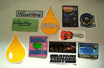 GRAND ROYAL Beastie Boys Lot Of 10 STICKERS + NR Card From 96 Butter LEE ATARI • 11.91£