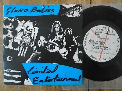 GLAXO BABIES - Limited Entertainment Y Records 4 Track EP 7  Vinyl  • 12.99£