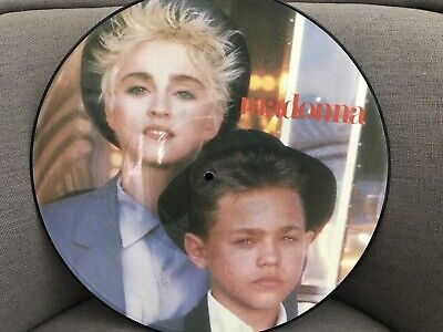 MADONNA - Open Your Heart 12  Vinyl Picture Disc (UK 1986 W8480TP) • 12.50£