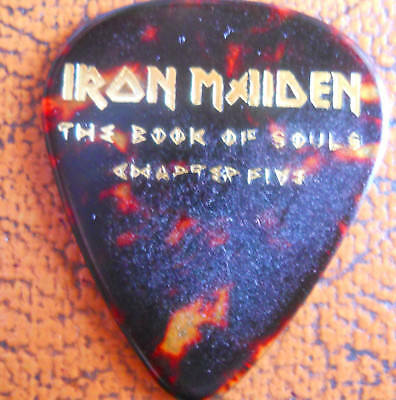 Official Janick Gers IRON MAIDEN Book Of Souls Ch:5 2017 Tour GUITAR PICK  • 12.52£