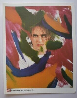 ROBERT SMITH (THE CURE) PHOTO PRINT FROM VOX MAGAZINE - 35.5 X 25.5cm • 6£
