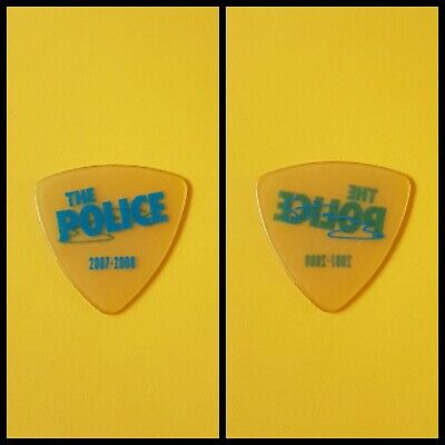 The Police Reunion Tour 2007/8 Sting Plectrum Proceeds Greyhound Charity • 3.50£