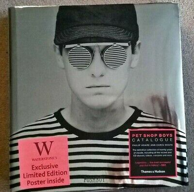 Rare SIGNED Pet Shop Boys Catalogue Book And Limited Poster Both Autographed • 250£