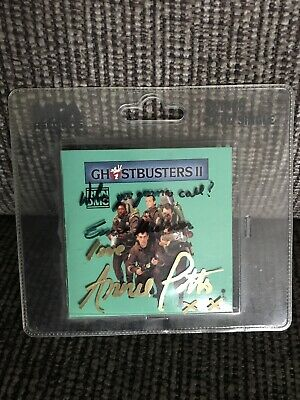 """'Ghostbusters' SIGNED 3"""" CD By Ernie Hudson & Annie Potts • 25£"""
