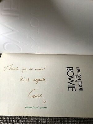 'Life On Tour With David Bowie' Corinne Coco Schwab SIGNED Paperback Book His PA • 35£