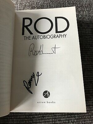 'The Autobiography'  Rod Stewart Penny Lancaster SIGNED Paperback Book • 35£