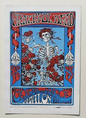 A4 Print From A Mojo Magazine Of 'the Grateful Dead' • 2£