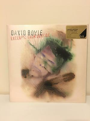David Bowie Outside V&A Vinyl • 500£