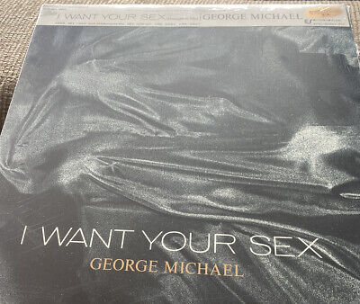 'I Want Your Sex' 12in Vinyl George Michael Japanese With Obi Strip SEALED • 30£