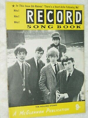 RECORD SONG BOOK....Dec 1964......ROLLING STONES Cover.. • 3.50£
