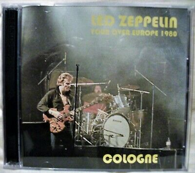 Led Zeppelin Live In Europe 1980 Cologne Double C.D • 12£