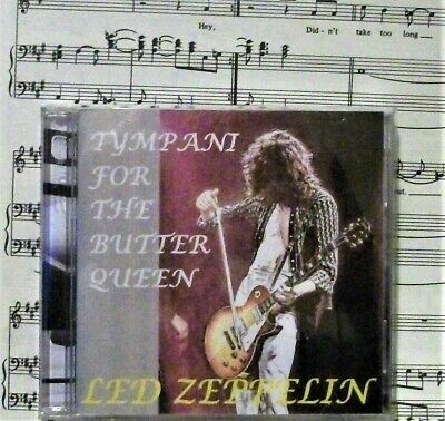 Led Zeppelin  Tympani For The Butter Queen  Double C.D Live Soundboard Bootleg • 12£