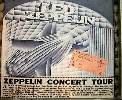 Led Zeppelin Live At The Royal Albert Hall 1970 Double Bootleg C.D • 12£