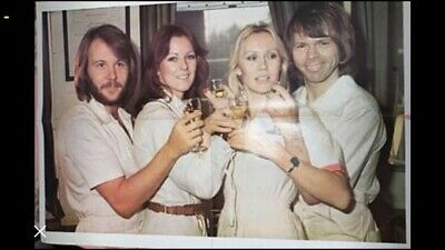 Large ABBA Poster From The 70's • 29.99£