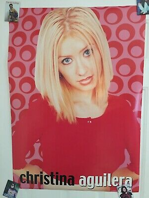 Rare Oop Christina Aguilera Poster Great Condition • 11.58£