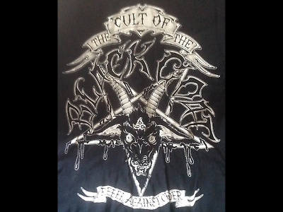 Cthulhu RPG T-shirt, Cult Of The Black Goat 666, H. P. Lovecraft, Goth, Metal  • 34.99£