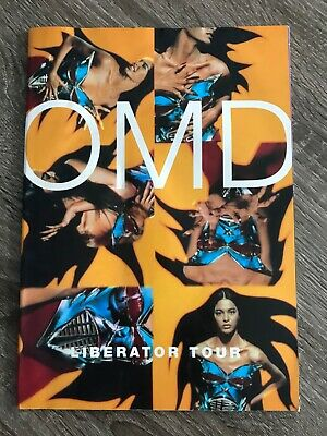 Orchestral Manoeuvres In The Dark OMD - LIBERATOR TOUR PROGRAM • 15£
