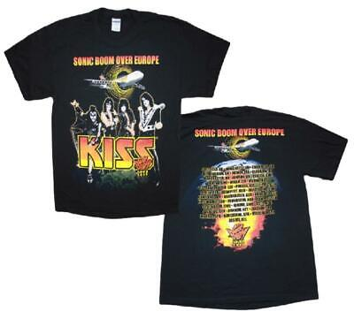 Kiss Sonic Boom Tour 2010 T-Shirt (Brand New, Large, Extra-Large) • 8£
