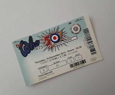 The Who Tickets & Memorabilia - MINT Ticket Stub(s) O2 Arena London 18/12/14 • 9.99£