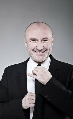 Phil Collins UNSIGNED 6  X 4  Photo - English Drummer, Singer And Actor - #816 • 1.50£