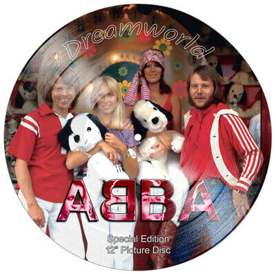 ABBA - STUNNING Collector's Limited Edition 12  Picture Disc • 79.99£