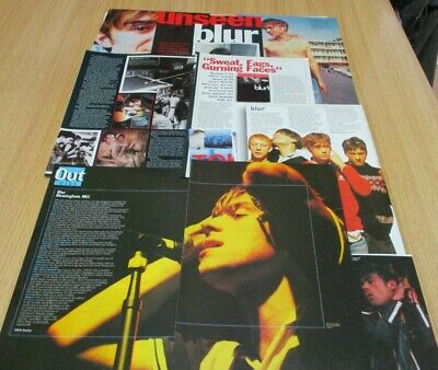 Blur Article,Clippings From Raw Magazine Mid 1990's • 4.99£