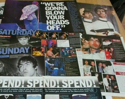 Oasis Clippings Cuttings Article Taken From Raw Mags. Mid 1990's • 7.99£