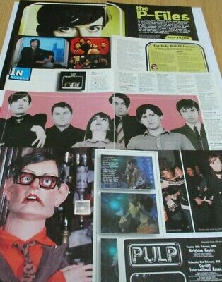 Pulp / Jarvis Cocker Clippings Cuttings Article From Raw Mags 1995/6 • 3.99£