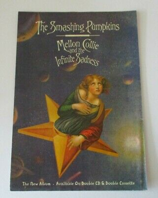 The Smashing Pumpkins Mellon Collie And The Infinite Sadness Advert A4 Size • 2.99£