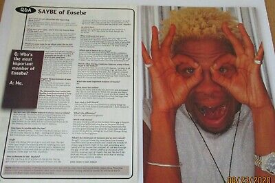 Saybe Of Eusebe Q&A Clippings / Poster A4 Size • 1.99£