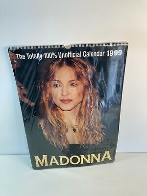 Madonna Unofficial 1999 Calendar New & Sealed (although Tears To Cellophane) • 28.31£