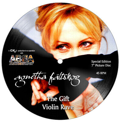 ABBA/AGNETHA - STUNNING FanClub Collector's Edition 7  Picture Disc • 59.99£