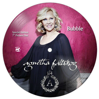 ABBA/AGNETHA - STUNNING Collector's Edition 7  Picture Disc 'Bubble' • 59.99£