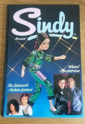 Sindy Annual 1985 Hardback Annual - Wham, Stories, Puzzles. 80's! • 6.50£