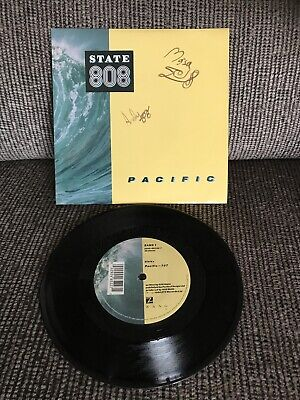 """'Pacific' 808 State SIGNED 7"""" • 15£"""