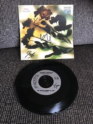 """'The Second Summer Of Love' Danny Wilson SIGNED 7"""" • 15£"""