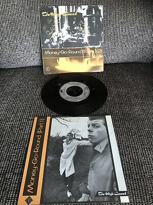 """'Money-Go-Round (Parts 1 & 2)' The Style Council SIGNED 7"""" Paul Weller M Talbot • 15£"""