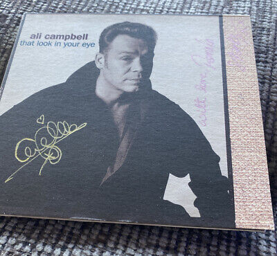 'That Look In Your Eye' Ali Campbell SIGNED CD (UB40) • 25£
