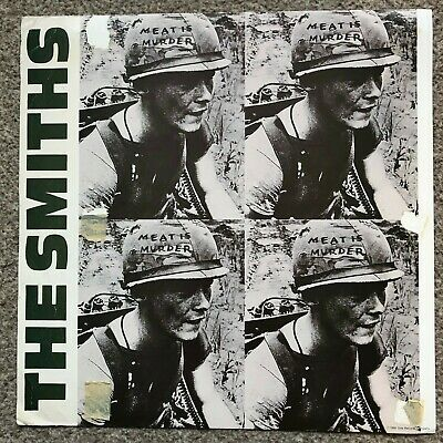 The Smiths Meat Is Murder ORIGINAL 1985 USA Instore Promo Item Indie Morrissey • 75£