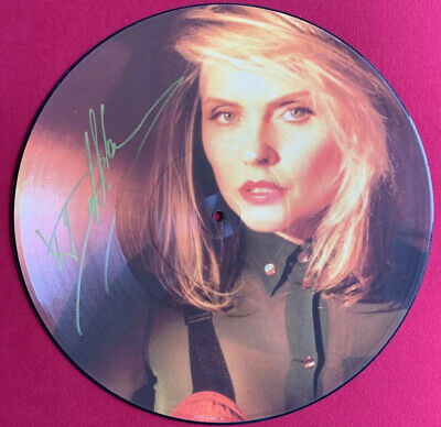 """Debbie Harry - Sweet And Low - 12"""" Picture Disc - Signed By Debbie Harry • 15£"""